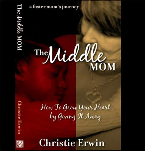 The Middle MomBy Christie Erwin - Every foster parent knows how hard, yet rewarding, it can be to care for a child with a difficult past and an uncertain future. Christie Erwin has been a mom, in the middle, for countless children over nearly two decades. In this poignant and insightful book, she honestly shares the reality of making yourself vulnerable to the pain and indescribable delight of giving your heart away to a child. If you have ever considered foster parenting and just aren't sure you have what it takes, let Christie's inspiring, faith-filled story assure you that there is One that can and will equip you with all you need.